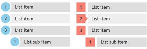 css layout list css3 ordered list styles