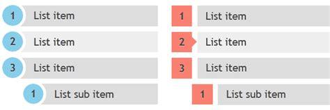 css tutorial list css3 ordered list styles