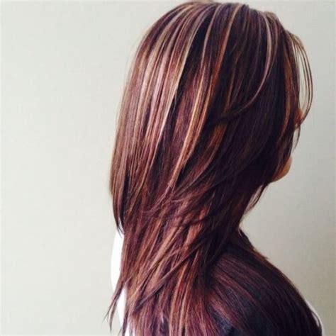 hairstyles blonde and red highlights 50 fab highlights for dark brown hair hair motive hair