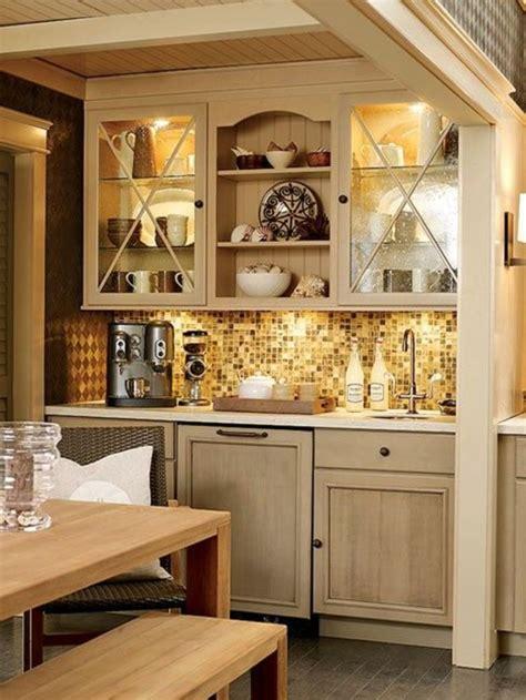 Corner Cabinet Bar Kaffeebar In Ihrer K 252 Che Gestalten Die Kaffeezeit Zu