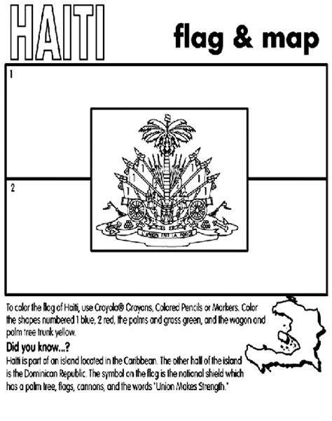 haiti coloring page crayola com