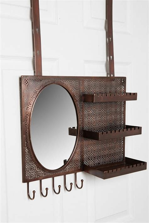 The Door Mirror Jewelry Organizer by The Door Mirror Jewelry Organizer Organization To