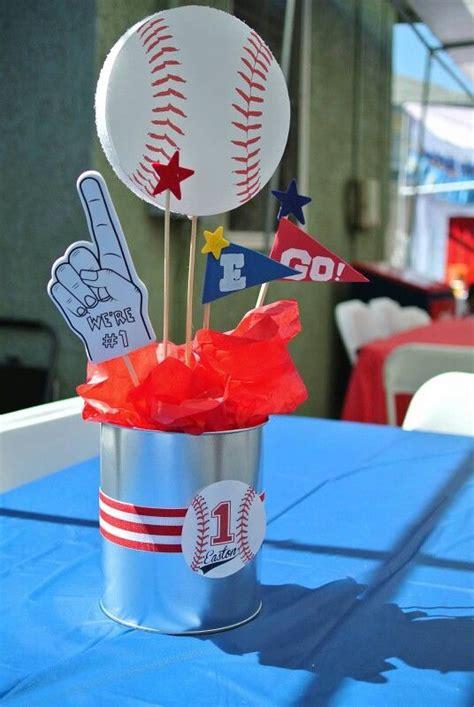 fiestas infantiles  tematica de beisbol