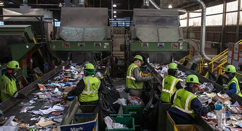 Recycling Center What Does Away Look Like Where Kirkland S Trash