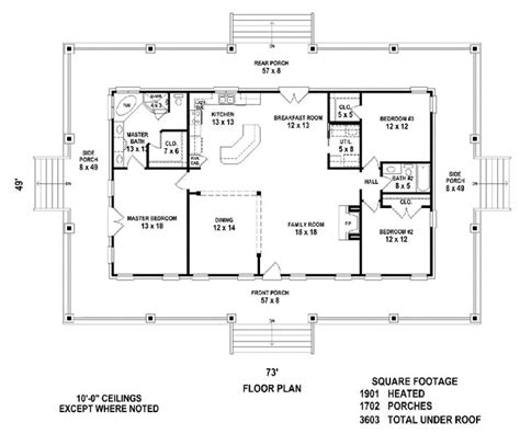simple open floor plans barndominium picmia
