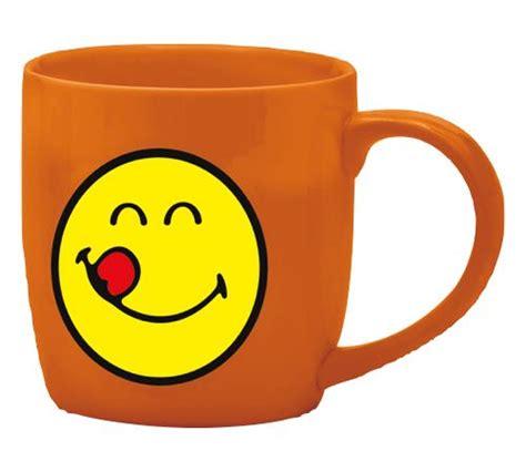 mug zak design mug smiley corail gourmand en porcelaine 35cl zak design