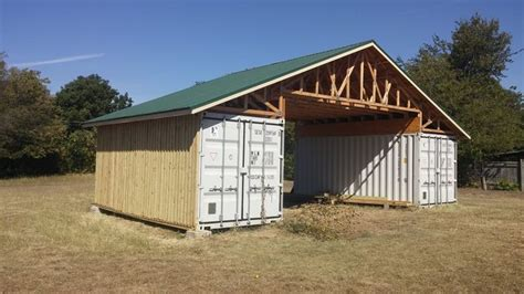 Gambrel Roof Barn Kits Shipping Container Barn Austin Tx Shipping Container