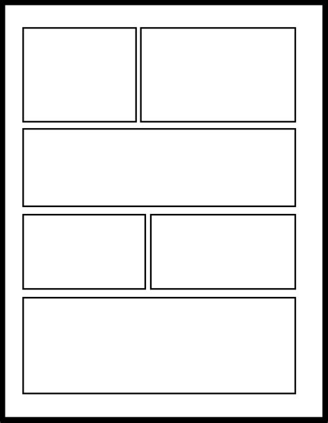 Smt 2 By Comic Templates On Deviantart Comic Panel Template Photoshop