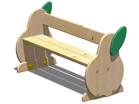 child bench pera kids bench by legnolandia