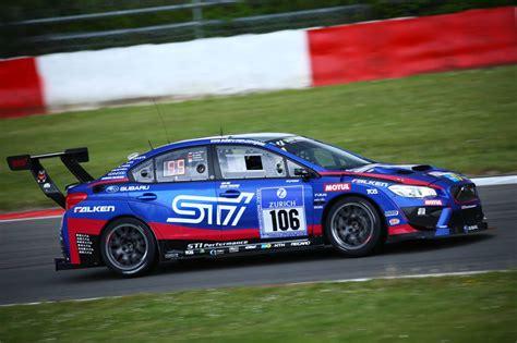 subaru nurburgring subaru wrx sti nbr racer wins n 252 rburgring 24h race