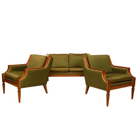 3 piece sofa set sale chic three piece sofa set for sale at 1stdibs