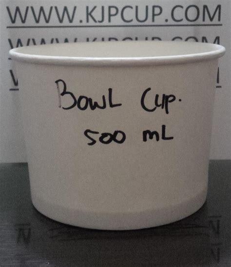 Mangkuk Tahan Panas 300ml jual mangkuk kertas tahan panas 17oz atau soup cup paper 17oz harga murah semarang oleh cv