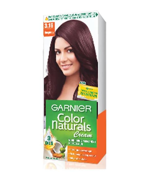 Garnier Color Naturals 60ml garnier color naturals hair color shade 3 16 burgundy