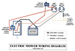 solar mower electrical wiring