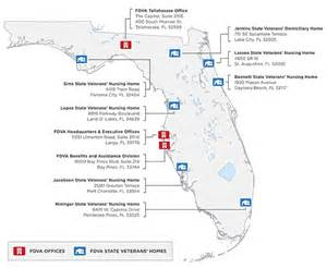 map of hospitals in florida florida department of veterans affairs connecting