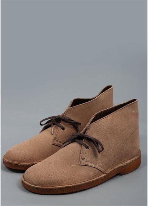 clarks originals desert boot wolf suede buy clarks