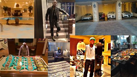 mayweather house inside inside the multi crore homes of some worlds most famous