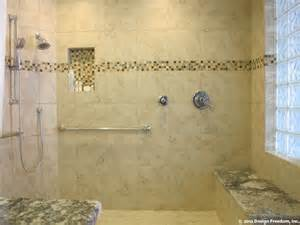 Bathroom Remodel Ideas Before And After by Master Bathroom With No Step Shower Modern Bathroom