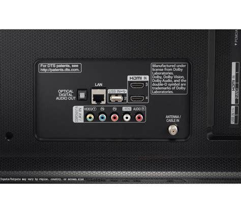 test tv 4k lg 43uj750v 43 quot smart 4k ultra hd hdr led tv deals pc world
