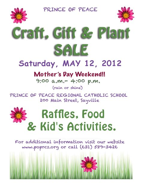 Craft Sale Flyer Template