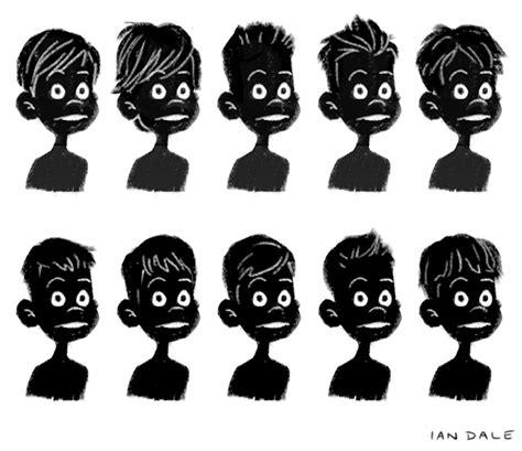 ian dale art amp design blog cartoon boy hairstyles
