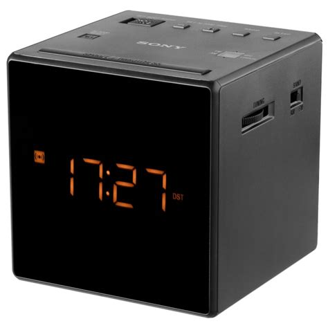 Sony Clock Radio Icf C1 Sony sony icf c1 b black alarm clocks clock radios photopoint