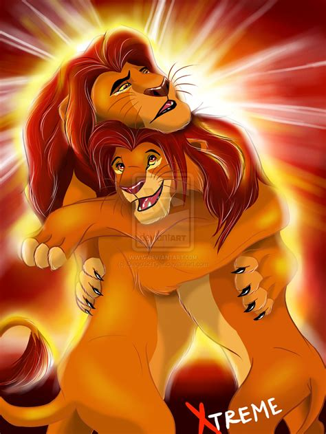 this is the lion kings simba and mufasa in real life mufasa and simba forever the lion king 2 simba s pride