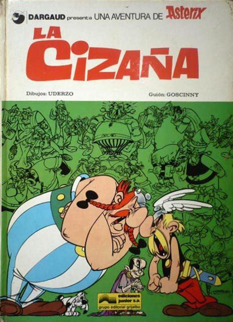 libro asterix 15 la cizaa asterix 1976 junior 15 ficha de n 250 mero en tebeosfera
