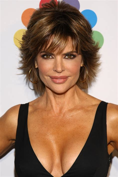 lisa rinna long layered hair lisa rinna layered razor cut lisa rinna short hairstyles
