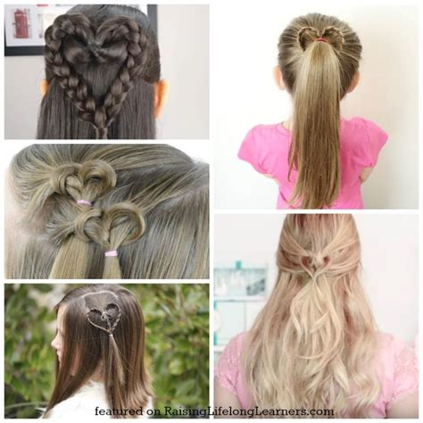girl hairstyles for picture day 50 adorable valentine s day hairstyles for girls easy