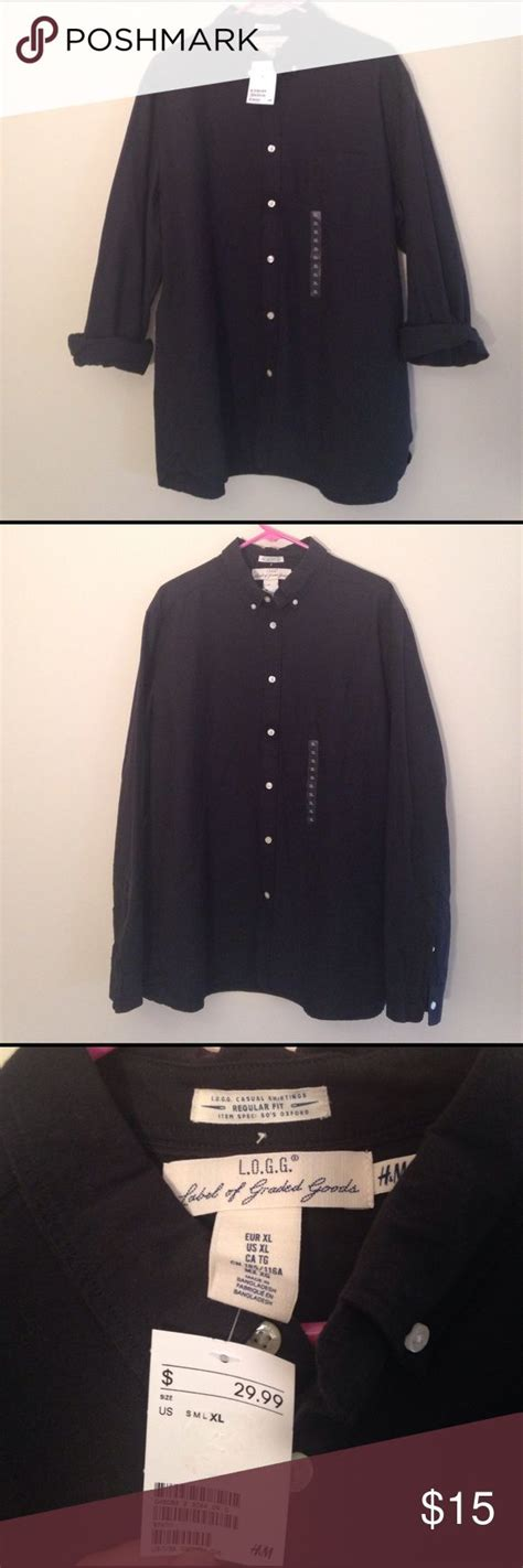 Branded Baju H Button Blouse 10 ideas about black button up shirt on black casual chic style and