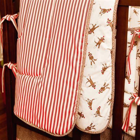 sock monkey baby bedding sock monkey crib comforter traditional baby bedding