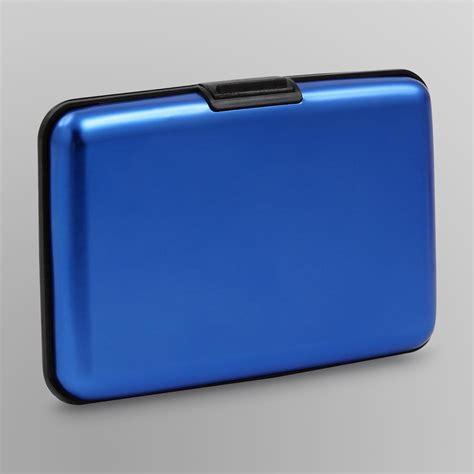 s aluminum security wallet
