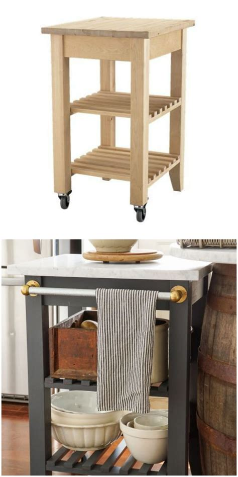 ikea portable kitchen island the 25 coolest ikea hacks we ve seen portable