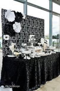 Black And White Decorating Ideas For A Party Black White Party Decorations Party Decorations