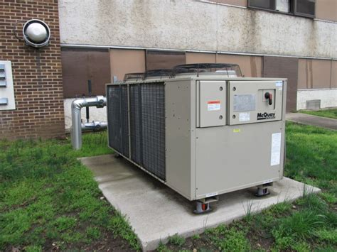 mcquay  ton agz series air cooled chiller