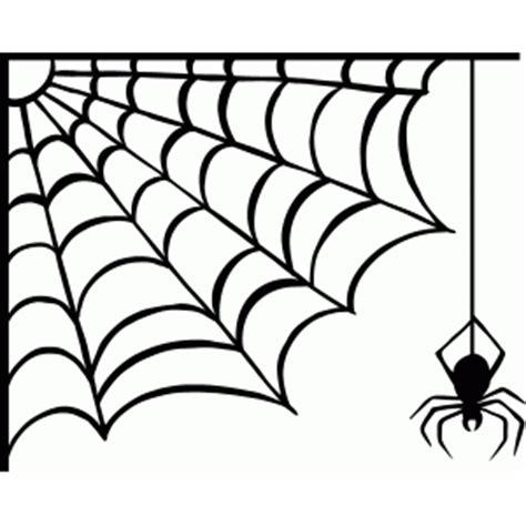 spider web silhouette  getdrawings