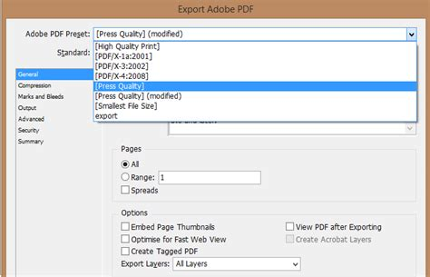 compress pdf for web viewing how to export to pdf from indesign retaining existing