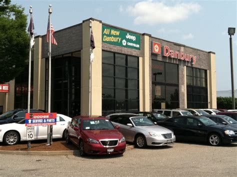 Danbury Chrysler Jeep Dodge by Danbury Chrysler Jeep Dodge 100 Federal Road Danbury Ct