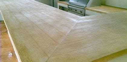 Granite Countertops Pasadena Ca by Concrete Goes Back To The Ranch With This Faux Wood Countertop Design Sted Artistry