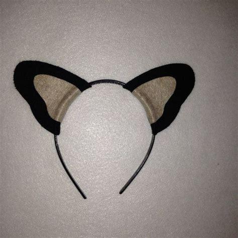 puppy ears headband best 25 ears headband ideas on puppy ears costume and