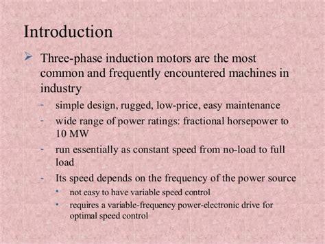 three phase induction motor notes induction motor three phase