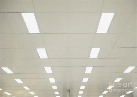 Lights On Ceiling by Suspended Ceiling Lights Photograph By Dave Les