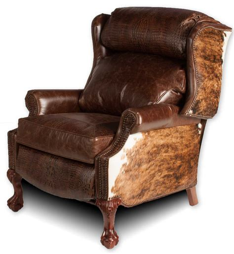 country recliners wingback recliner hill country collection leather