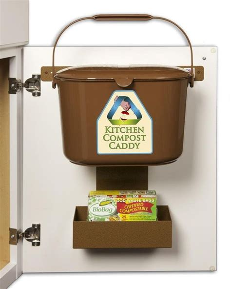 diy kitchen compost bin scrap container stainless with compost cabinet doors and cabinets on pinterest