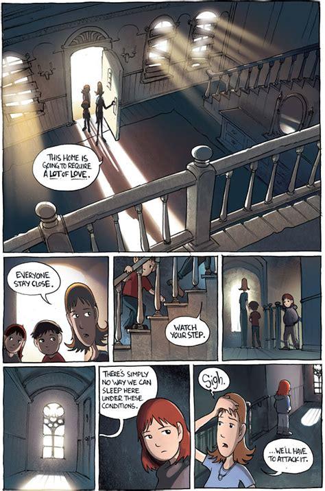 libro amulet exclusive comics excerpt amulet vulture