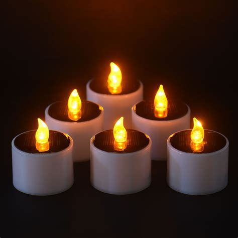 Solar Light Candles Solar Power Led Candle Light Candles Flameless
