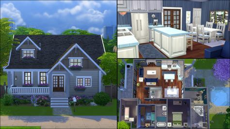 Simple Colonial House Plans the sims 4 gallery spotlight simsvip