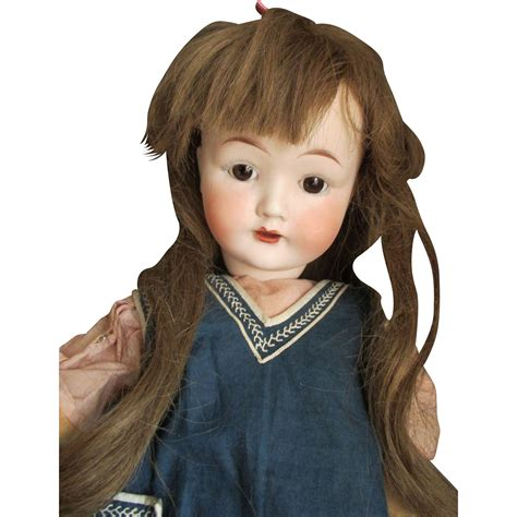 bisque doll composition antique bisque on a composition doll from