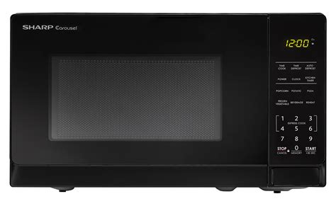 Cek Freezer Sharp smc0710bb 0 7 cu ft black carousel microwave sharp